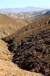 Montagnes de La Pared Espagne, Iles Canaries,