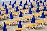 Espagne, Iles Canaries, Lanzarote, plage de Costa Calma