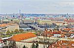 Palais de valdstejnsky de République tchèque, Prague,
