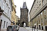 Czech Republic, Prague, powder tower