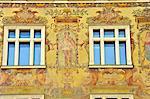 Tschechien, Prag, Venceslas quadratisch, Fassade