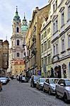 Église de Saint Nicolas de République tchèque, Prague,