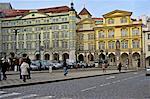 Tschechien, Prag, Malostranska quadratisch, Königspalast