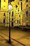 République tchèque, Prague, la vieille ville, l'éclairage public