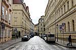 Rue de la République tchèque, Prague, la vieille ville