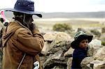 Pérou, canyon du Colca, personnes
