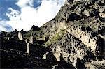 Peru, province of Urubamba, Ollantaytambo, walls