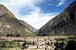 Peru, province of Urubamba, Ollantaytambo