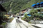 Village de la province d'Urubamba, Aguas Calientes, Pérou