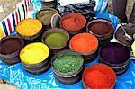 Peru, province of Urubamba, Chinchero, market, spices