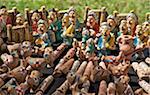 Handmade ceramics souvenirs, Uzbekistan