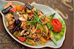 Fried Fish with Cashews, Chiang Rai