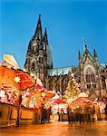 Kölner Dom zu Weihnachten