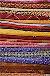 pile of fabrics