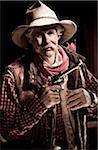 Colorado Cowboy posiert