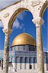 Islamic Shrine Dome of the Rock in Jerusalem
