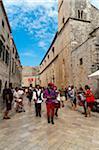 Stradun Street, Dubrovnik, Dubrovnik-Neretva County, Croatia