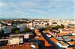 Vue d'ensemble de la ville, Zadar, comitat de Zadar, Dalmatie, Croatie