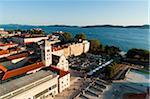 City view, Zadar, comtée, Dalmatie région de Zadar, Croatie, Europe.