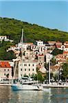 Yacht und Port, Split, Dalmatien, Kroatien