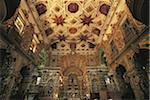Brazil, Salvador, Pelourinho, Sao Francisco de Assis church, indoors