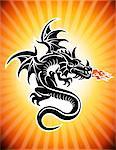 Dragon cracheur de feu