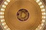 Le dôme de la rotonde du Capitole des États-Unis à Washington, D.C.