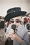 Boy in band