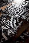 Metal Letterpress A