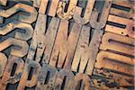 Wood Letterpress