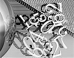 CG rendering, number
