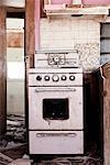 Zerstörten Küche