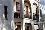 House with balcony, Old San Juan, Puerto Rico