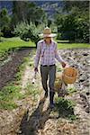 Farmer on Organic Farm