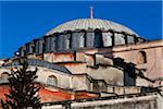 Close-Up of Hagia Sophia, Istanbul, Turkey