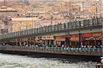 Pont de Galata, Istanbul, Turquie