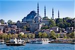 Mosquée de Suleymaniye, troisième Hill, Istanbul, Turquie