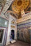 Chambre Imperial Harem, Palais de Topkapi, Istanbul, Turquie