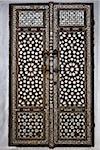 Nahaufnahme der Türen, Imperial Harem, Topkapi Palast, Istanbul, Türkei