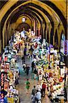 Spice Bazaar, quartier d'Eminonu, Istanbul, Turquie