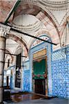 Rustem Pasha Mosque, Hasircilar Carsisi, Eminonu, Istanbul, Turkey