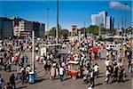 Taksim Square, le quartier de Beyoglu, Istanbul, Turquie