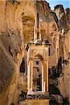 Moschee, Zelve Ausgrabungsstätte, Kappadokien, Nevsehir, Türkei