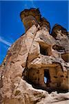 Rock Formation Dwelling, Pasabagi, Cappadocia, Nevsehir Province, Turkey