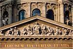 Close-Up of Tympanum, St. Stephen's Basilica, Budapest, Hungary