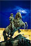 Pferde Statue, Hofburg Palast, Wien, Österreich