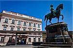 Albertina and Equestrian Statue, Innere Stadt, Vienna, Austria