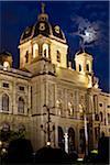 Kunsthistorisches Museum at Night, Vienna, Austria