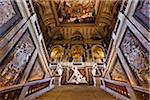 Staircase in Kunsthistorisches Museum, Vienna, Austria