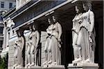 Caryatid Pillars, Austrian Parliament Building, Vienna, Austria